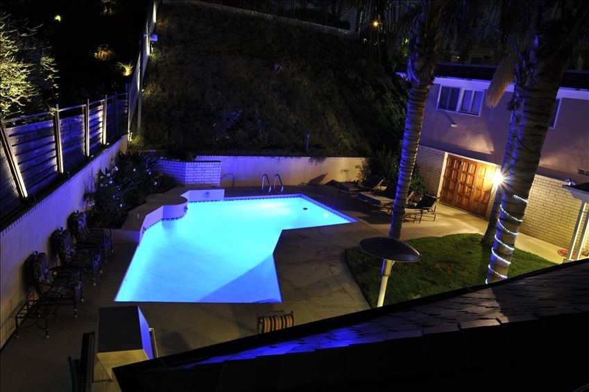 Hollywood Mansion Pool