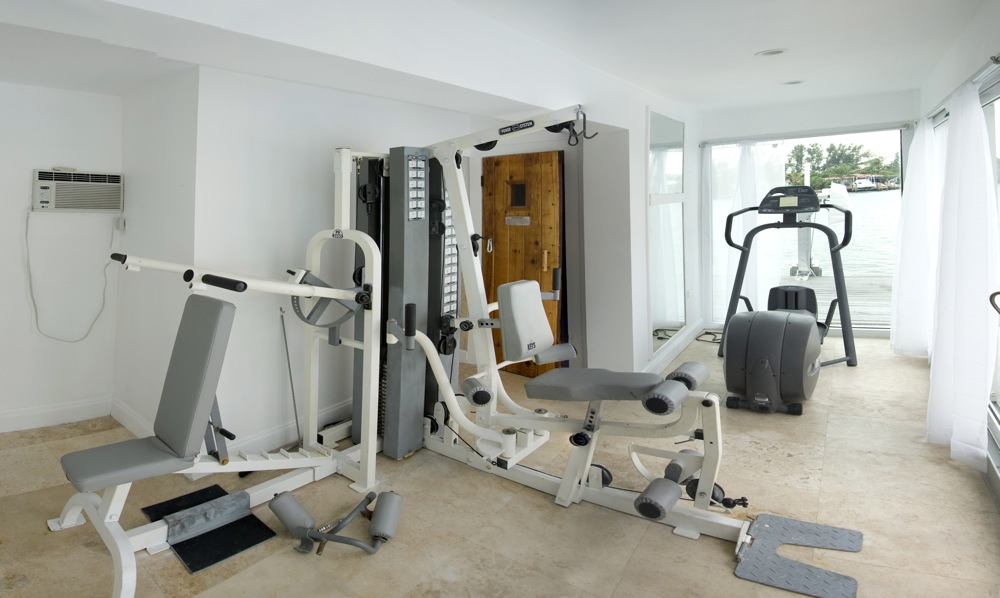 Inside Fitness Room